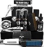 Best Beard Kits - Beard Straightener Grooming Kit for Men, Beard Brush Review