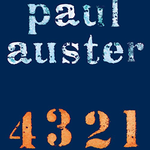 Couverture de 4 3 2 1 [Danish Edition]