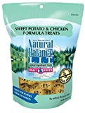 Natural Balance L.I.T. Limited Ingredient Treats Small Breed Dog Treats, Sweet Potato & Chicken Formula, 8 Ounce Pouch, Grain Free