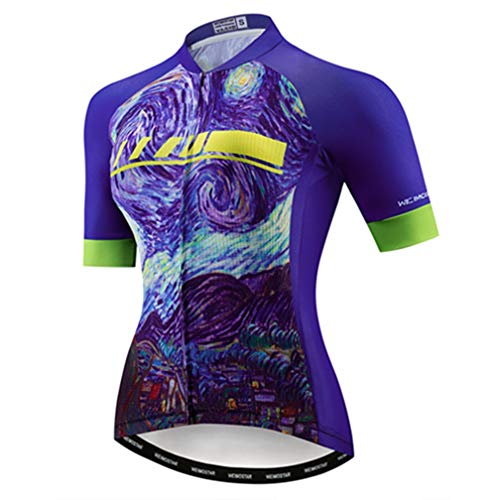 Cycling Jersey Women's Bike Jersey 2020 MTB Bicycle Shirt Team Racing Tops