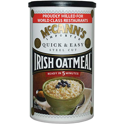 Mcann's Imported Quick & Easy Steel-Cut Irish Oatmeal, Sourced in the USA, 24-Ounce Can