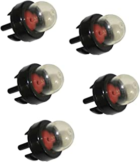 SaferCCTV 5pcs Snap in Primer Bulb Pump Replace 188-512,188-512-1 for Stihl Homeliter Ryobi Echo Walbro Trimmer Zama Mcculloch Poulan Weed Trimmer Brush