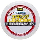 DUEL(デュエル) HARDCORE(ハードコア) フロロライン 2号 HARDCORE エギング LEADER 30m 2号 ナチュラルクリアー エギング H3375