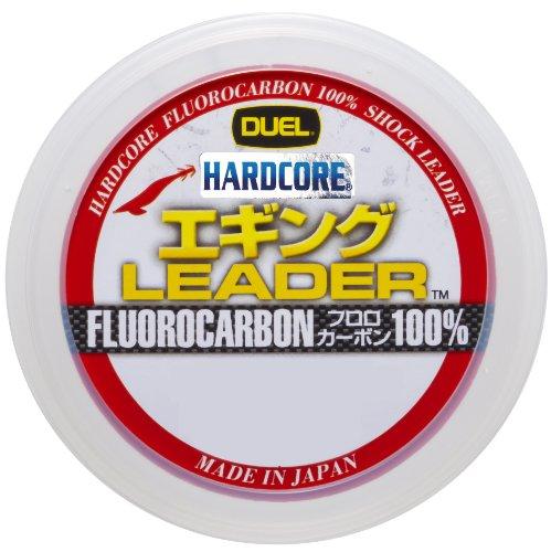 デュエル(DUEL) ショックリーダー(フロロカーボン): HARDCORE エギング LEADER 30m 1.5号 : ナチュラルクリ...