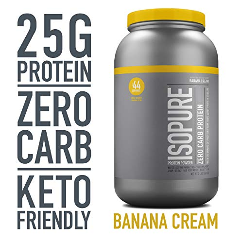 Isopure Zero Carb, Vitamin C and Zinc for...
