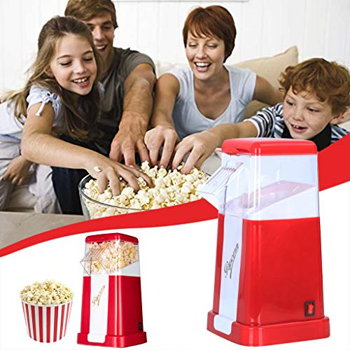 For Sale! DTgirl DTgirl Automatic Popcorn Machine,Household Children's Mini Small Corn Popcorn Machi...