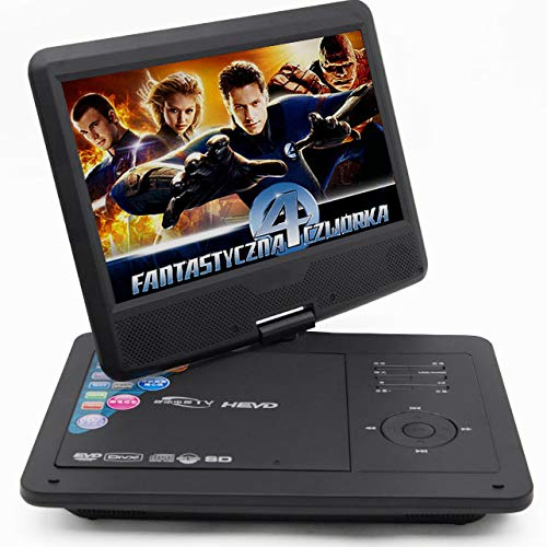 Best Buy! YP 10.1 Inch HD DVD Player,(1024600) Support High-Speed USB Interface 270° Full Rotation ...