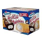Hostess Twinkies & Cupcakes (16 Twinkies & 16 Cupcakes per Box), Individually Wrapped, 64 Total (2 Boxes) (1 BOX)