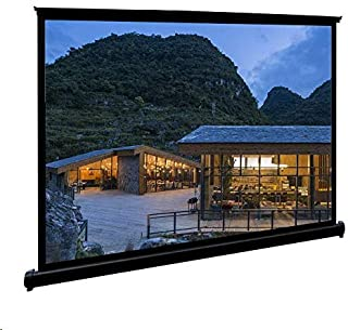 Movie Screens for Projectors Outdoor, Portable Projector Screen, 50 inch 4:3 Anti-Crease Waterproof Easy Install Floor-Sta...