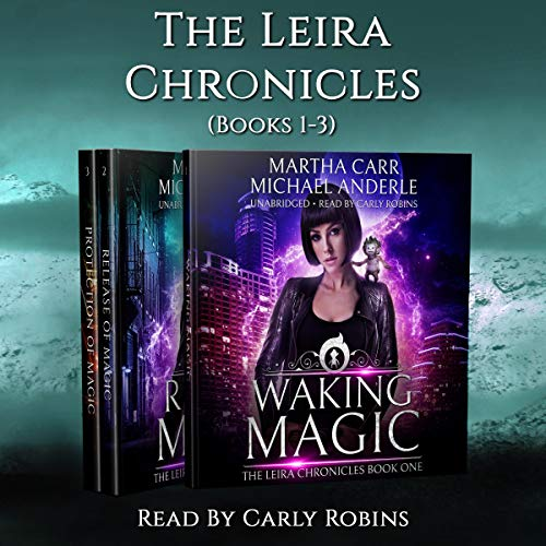 The Leira Chronicles Boxed Set, Volume One (Books 1-3)     Waking Magic, Release of Magic, Protection of Magic              De :                                                                                                                                 Martha Carr,                                                                                        Michael Anderle                               Lu par :                                                                                                                                 Carly Robins                      Durée : 22 h et 30 min     Pas de notations     Global 0,0