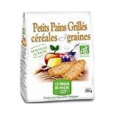 Pain grillè - Pan tostado con cereales y semillas 225 g