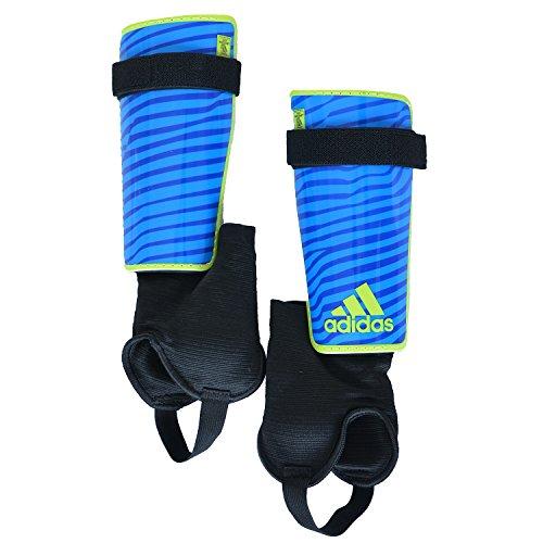 Adidas X Replique Schienbeinschoner Schoner für Fußball Solarblue/Yellow S90363, Größe:L