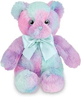 Bearington Lil' Gem Rainbow Plush Stuffed Animal Teddy Bear, 12