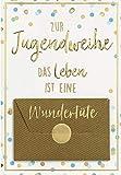 Geldkarte zur Jugendweihe Lifestyle - Wundertüte - Format: 11,6 x 16,6 cm