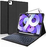 Teclado para iPad Air 4 2020, KVAGO Funda con Teclado Español Desmontable Bluetooth para iPad 10.9 /...