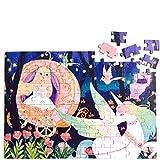 Georgie Porgy Dibujos Animados Puzzles Rompecabezas Multicolor Educativo Puzzles Juguetes Regalos Juegos para Nias Nios de 5 Aos en Adelante (100 PC Pequea Princesa y Unicornio)