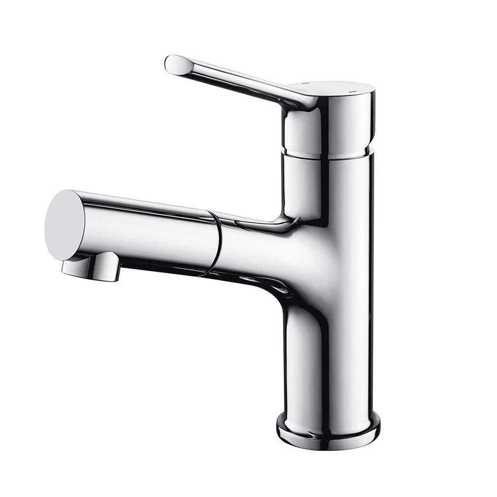 Lonheo Waschtischarmatur Wasserhahn Bad Armatur herausziehbarer ...