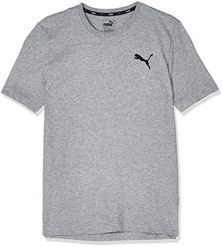 PUMA 851741 T-Shirt Homme Medium Gray Heather/Cat FR: XL (Taille Fabricant: XL)