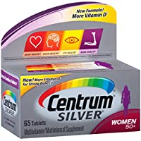 65-Count Centrum Silver Women Multivitamin / Multimineral Supplement Tablet