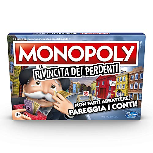 Hasbro Gaming - Monopoly La rivincita dei perdenti (Gioco in Scatola)