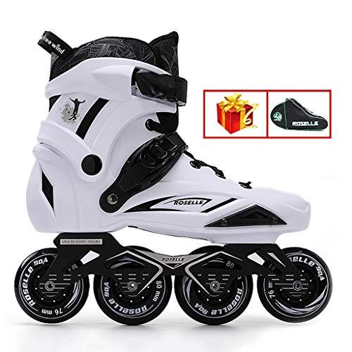 Inline-Skates, All-Rad-Flash, Geeignet for Männer und Frauen, 35-44 Yards (Farbe: # 2, Größe: EU 37 / US 5 / UK 4 / JP 23,5cm) MEI (Color : #2, Size : EU 37/US 5/UK 4/JP 23.5cm)