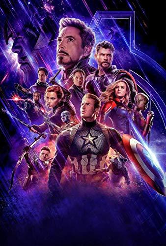 Marvel Avengers Endgame 59 - Cartel de la película de cine - La reproducción, el regalo perfecto - A4 Cartel (11.7/8.3 inch) - (30/21 cm) - Papel fotográfico grueso brillante