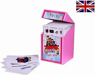 English Starter Flash Cards Kit to Teach Beginner Level Students - 英語フラッシュカード、絵カード、子供, フルーツ,