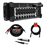Mackie DL16S 16-Channel Wireless Digital Live Sound Mixer with Built-In Wi-Fi plus (2) XLR-XLR Cable, XLR-TRS Cable &...