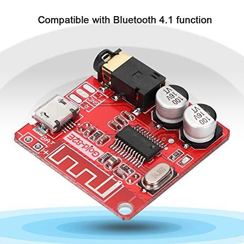 Wendry Auto Bluetooth module, Bluetooth 4.2 decoder board verliesvrije ontvangstmodule voor auto audio versterker aangepast (automatische verbindingsfunctie)