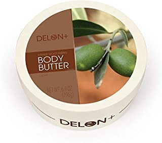 All Natural Earthly Body Skin Body Butter with Hemp Seed and Shea Butter - Skinny Dip 8 oz.