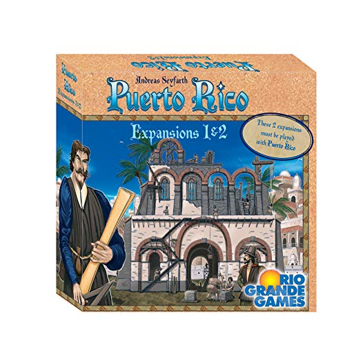 Rio Grande Games RGG565 Puerto Rico Expansions 1 & 2: The New...