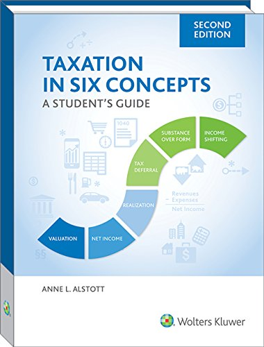 Compare Textbook Prices for Taxation in Six Concepts: A Student's Guide, 2019  ISBN 9780808050919 by Anne Alstott
