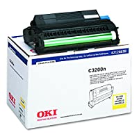 Yellow Image Drum with Toner for C3200 Color Printer