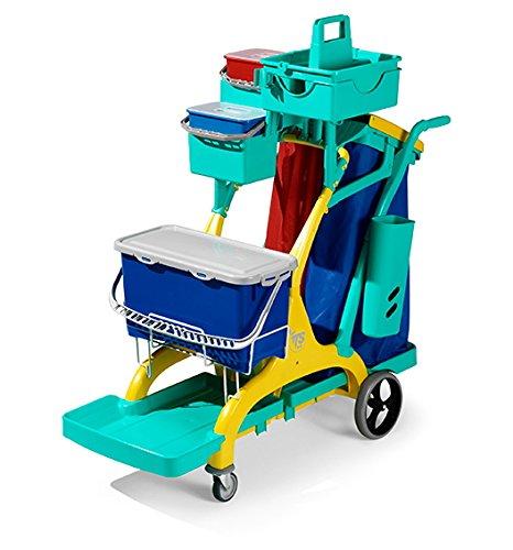 TTS Nick Star Healthcare 2020 - Carro de limpieza profesional