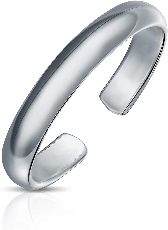 Popular popular Ranking TOP1 Personalized Engravable Mid Finger Plain Toe Polished Ring Midi