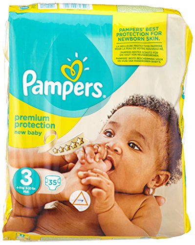 PAMPERS New Baby Gr.3 midi 4-9kg Sparpack 35 St