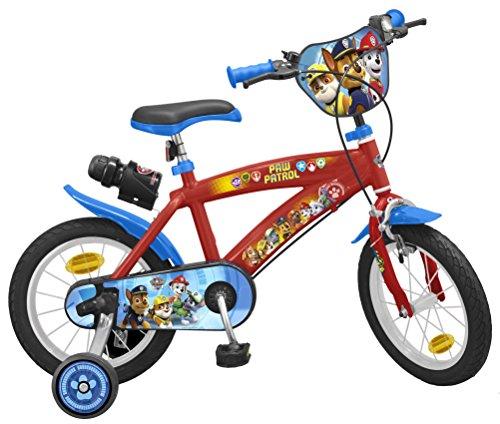 TOIMS Paw Patrol Bicicleta de Niño, tamaño 14 Pulgadas