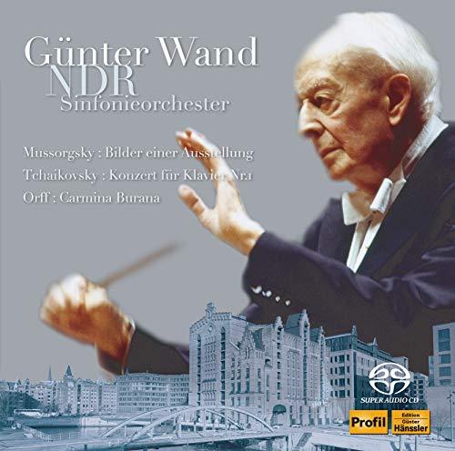 ギュンター・ヴァント 不滅の名盤 [11] 北ドイツ放送交響楽団編《 展覧会の絵》、カルミナ・ブラーナ他 (Mussorgsky : Bilder einer Ausstellung, Tchaikovsky : Konzert fur Klavier Nr.1, Orff : Carmina Burana / Gunter Wand, NDR Sinfonieorchester) [2SACD Hybrid] [国内プレス] [日本語帯・解説付] [歌詞対訳付き] [Live]