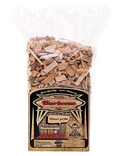 Axtschlag Räucherchips Klaus grillt, idealer 240 g Spezial-Mix als Probier-Packung, sortenreine Wood Chips für besondere Rauch- und Geschmackserlebnisse, für alle Grills