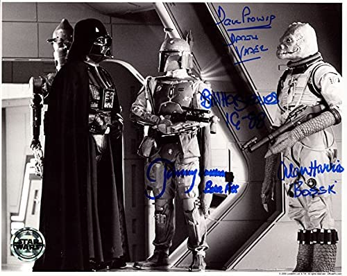 PROWSE Ranking TOP12 HARGREAVES BULLOCH HARRIS Large-scale sale SIGNED 8x10 OPX STAR PHOTO WARS