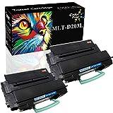 (2-Pack, High Yield, Black) ColorPrint Compatible D203L 203L MLT-D203L Toner Cartridge MLTD203L Used for Samsung ProXpress SL-M4020ND SL-M4070FR SL-M3320ND SL-M3870FW SL-M3370FD SL-M3820DW Printer