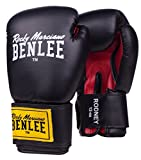 Benlee Rocky Marciano Rodney - Guante de boxeo (PVC), color, negro/rojo,...