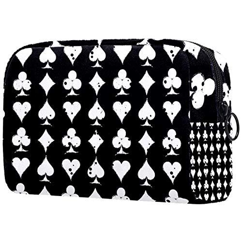 Kosmetiktasche Womens Waterproof Makeup Bag Für Reisen zum Tragen von Kosmetika Wechselschlüssel usw. Grungy Grafikkarte
