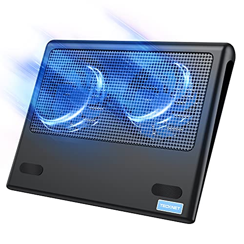 TECKNET Laptop Cooling Pad, Portable Ultra-Slim Quiet...