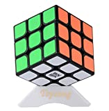 Topsung Moyu Aolong v2 3x3 Speed Cube Enhanced Edition Smooth Magic Cube Puzzle Toy Black