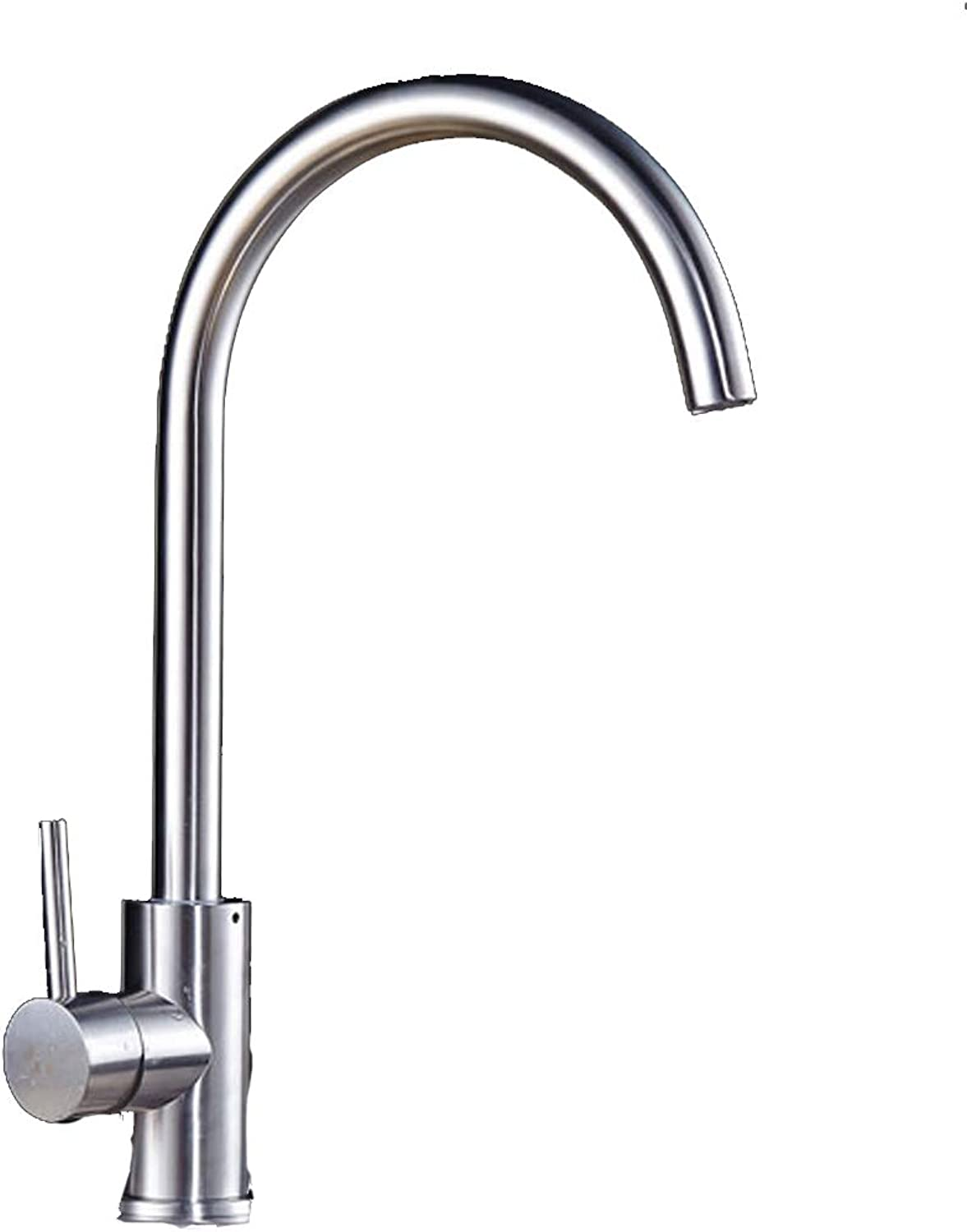 Kitchen faucet hot and cold dishes pot thickening of the sink faucet can be redated 304 stainless steel (Size   A)