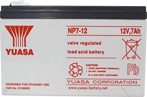 Yuasa NP7-12 AGM S65 - 12V 7.0Ah - Acide...