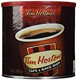 Tim Hortons Ground Coffee Can, 32.8 Ounce (Pack of 2) by Tim Hortons
