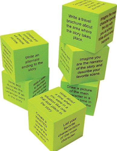 Teacher Created Resources 20635 Foam: Retell a Story Cubes