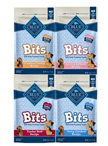 Blue Buffalo Treats-4 Pack